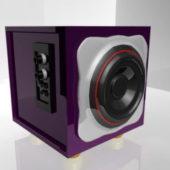 Pc Desktop Sub Speaker