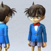 Anime Character Detective Conan