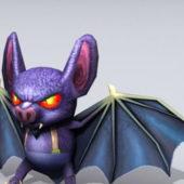Devil Bat Cartoon Character