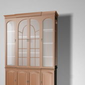 Display Cabinet Furniture With Glass Doors