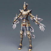 Divine Wizard Character