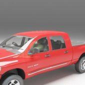 Dodge Ram Pickup Truck Car