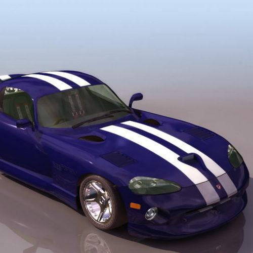 Dodge Srt Viper Sport Racing Car