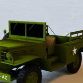Military Dodge Wc-51 Truck