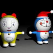 Character Doraemon & Dorami