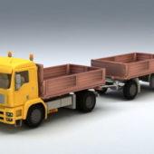 Vehicle Trailer Dump Truck