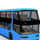Double Decker City Bus