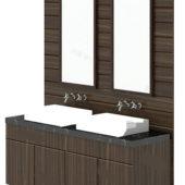Furniture Double Sink Vanity Units