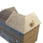 Double Storey Terrace House Building