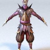 Character Dragon Assassin