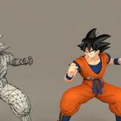 Dragon Ball Son Goku Cartoon Character