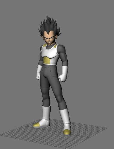Character Dragon Ball Vegeta