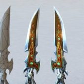 Dragon Dagger Fantasy Weapon