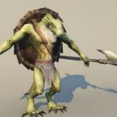 Character Dragon Warrior