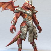 Dragon Legionary Game Character