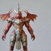 Character Dragonkin Warrior