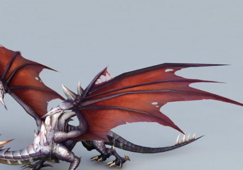 Fantasy Drake Dragon Creature