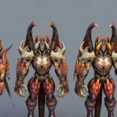 Draken Warriors Game Character