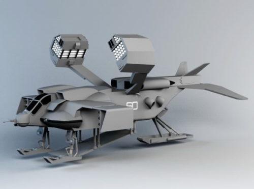 War Weapon Drop-ship Concept Vehicle