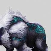 Fantasy Animal Druid Bear