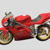 Ducati Motorcycle Sport Bike