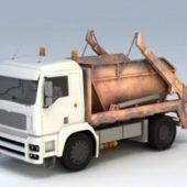 Vehicle Dumpster Truck