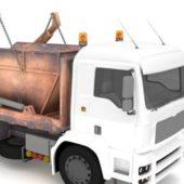 Heavy Dumpster Hauler Truck