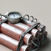 Dynamite Time Bomb Weapon
