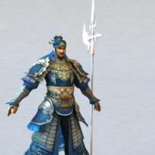 Character Dynasty Warrior Rigged
