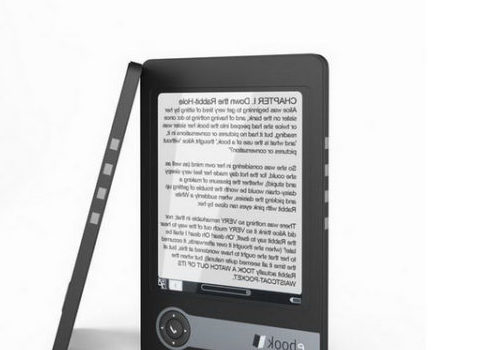 Black White E-book Reader