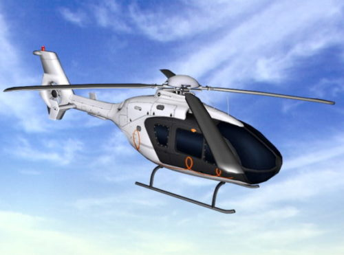 Aircraft Civil Helicopter