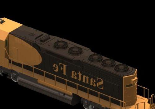 Vehicle Emd Sd40 Locomotive