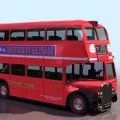 European Double Decker Bus