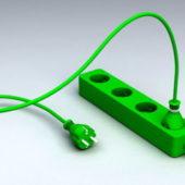 Home Electric Plug Strip