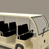 Electric Sightseeing Travel Car