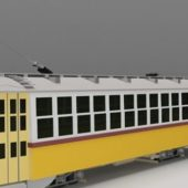 Vehicle Electric Tram Trolley