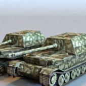 Military Elefant Destroyer Tank