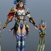 Character Elf Assassin Female