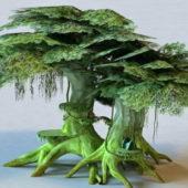 Nature Elf Tree House