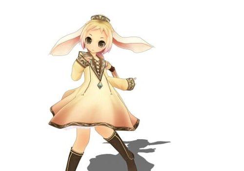 Character Elf Anime Girl