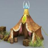 Vintage Elven Tent