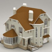 Building Country House Villa