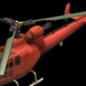 European Eurocopter Gazelle Armed Helicopter