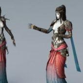 Evil Sorceress Character Rig