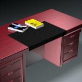 Executive Desk Furniture And Book