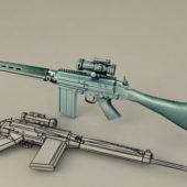 Fn Battle Rifle Gun