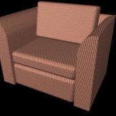 Home Furniture Fabric Cube Chair