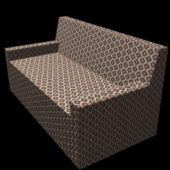 Home Furniture Fabric Settee