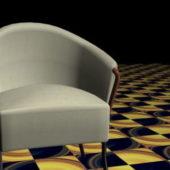 Fabric Tub Chair Home Furniture