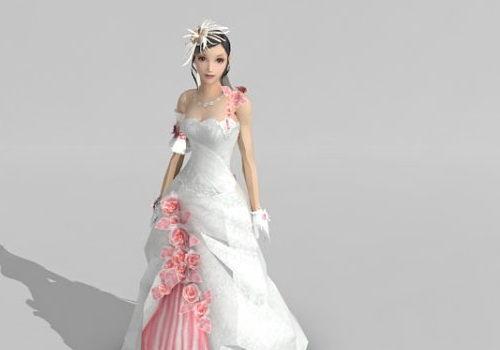 Fairy Bride Girl Character